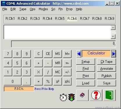 CDML Advanced Calculator