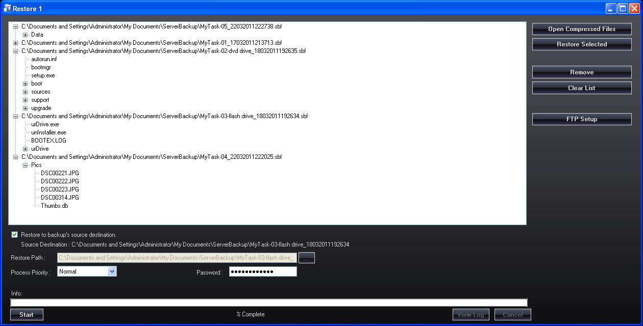 ServerBackup