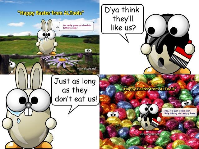 ALTools Easter Desktop Wallpapers 2006