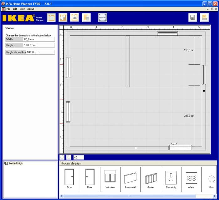 I must admit I m a big fan of IKEA furniture  so as soon as I saw this IKEA  software I knew I would love it  View full description  IKEA Home Planner. IKEA Home Planner   Download