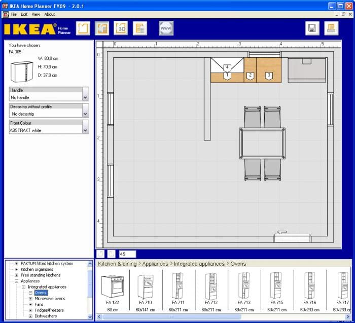 I must admit I'm a big fan of IKEA furniture, so as soon as I saw this IKEA  software I knew I would love it. View full description. IKEA Home Planner