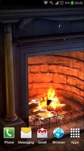 Fireplace 3D Pro lwp