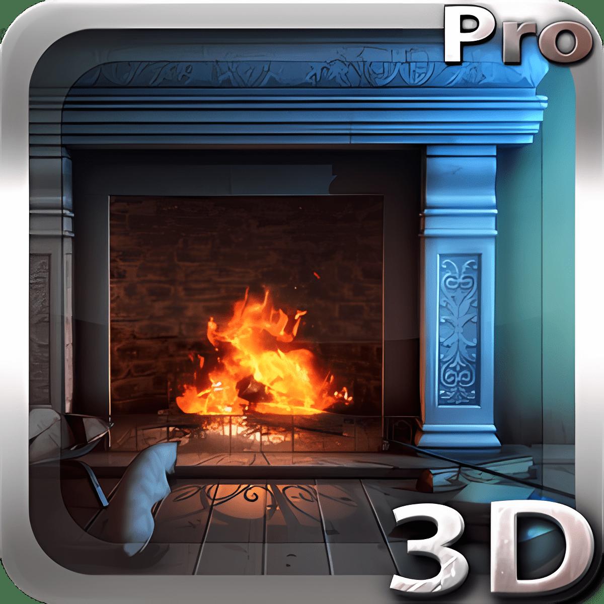Fireplace 3D Pro lwp 1.1