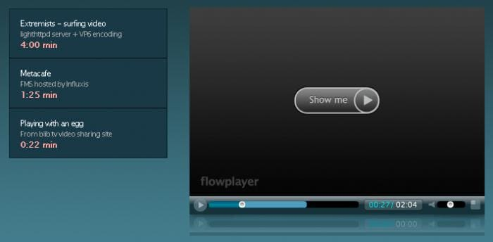 Flowplayer - Kostenloser Flash Player für Webseiten - Dr ...
