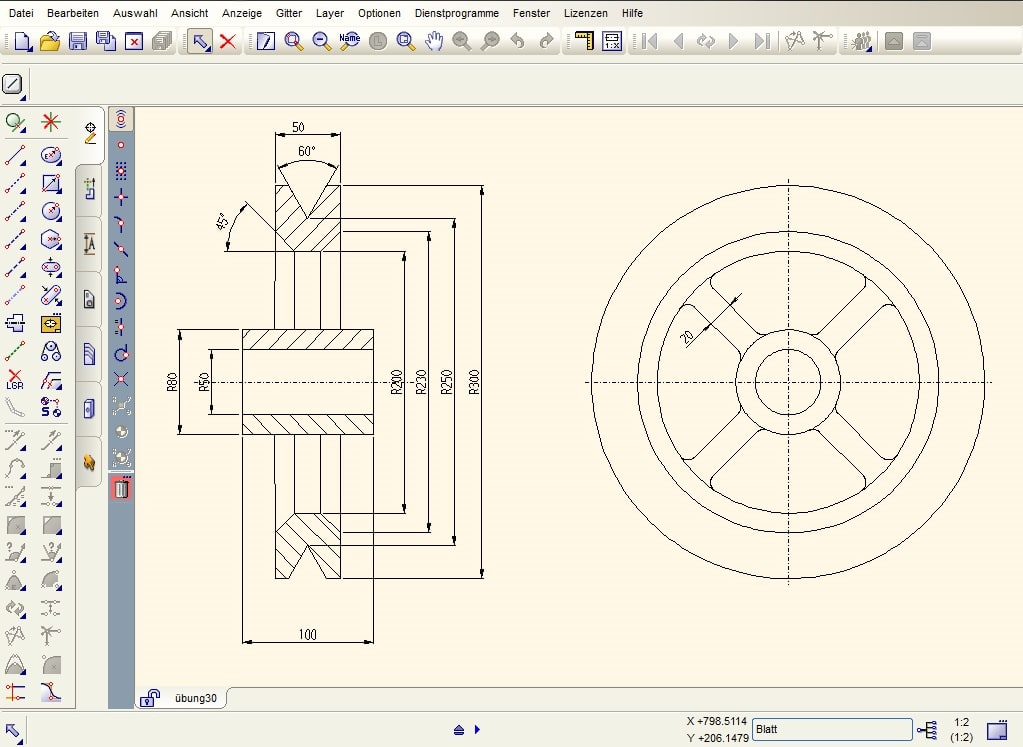 Medusa4 personal download for Online 2d drafting software