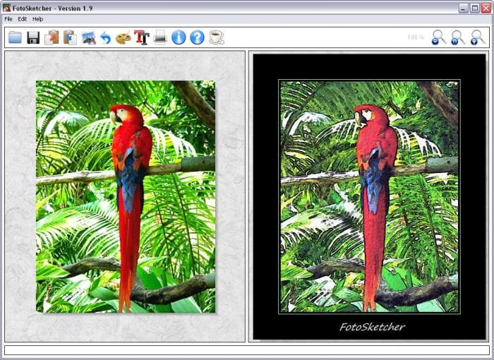 FotoSketcher Portable