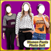 Women Pants Photo Suit