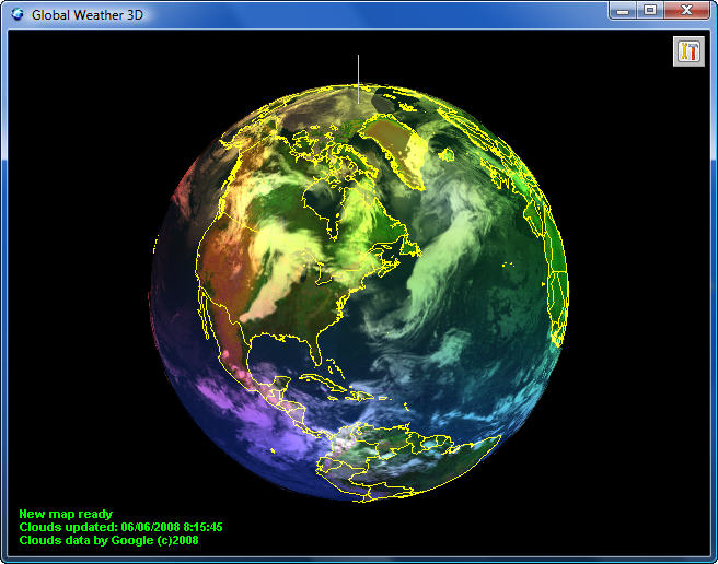 Global Weather D Download - Global weather map