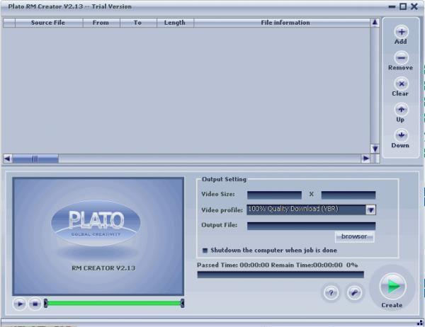 Plato RM Creator