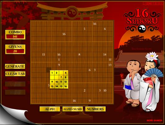 Sudoku16