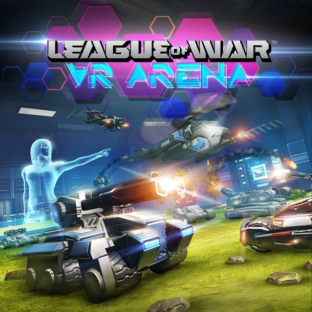 League of War: Arena PS VR PS4 varies-with-device