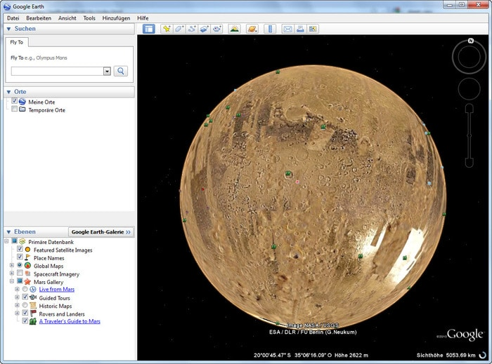 Google Earth 7.1.5.1557