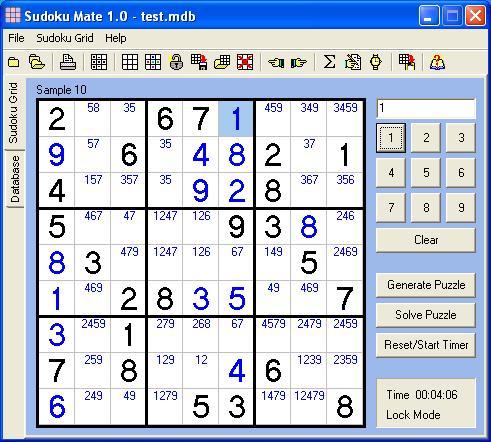 Sudoku Mate