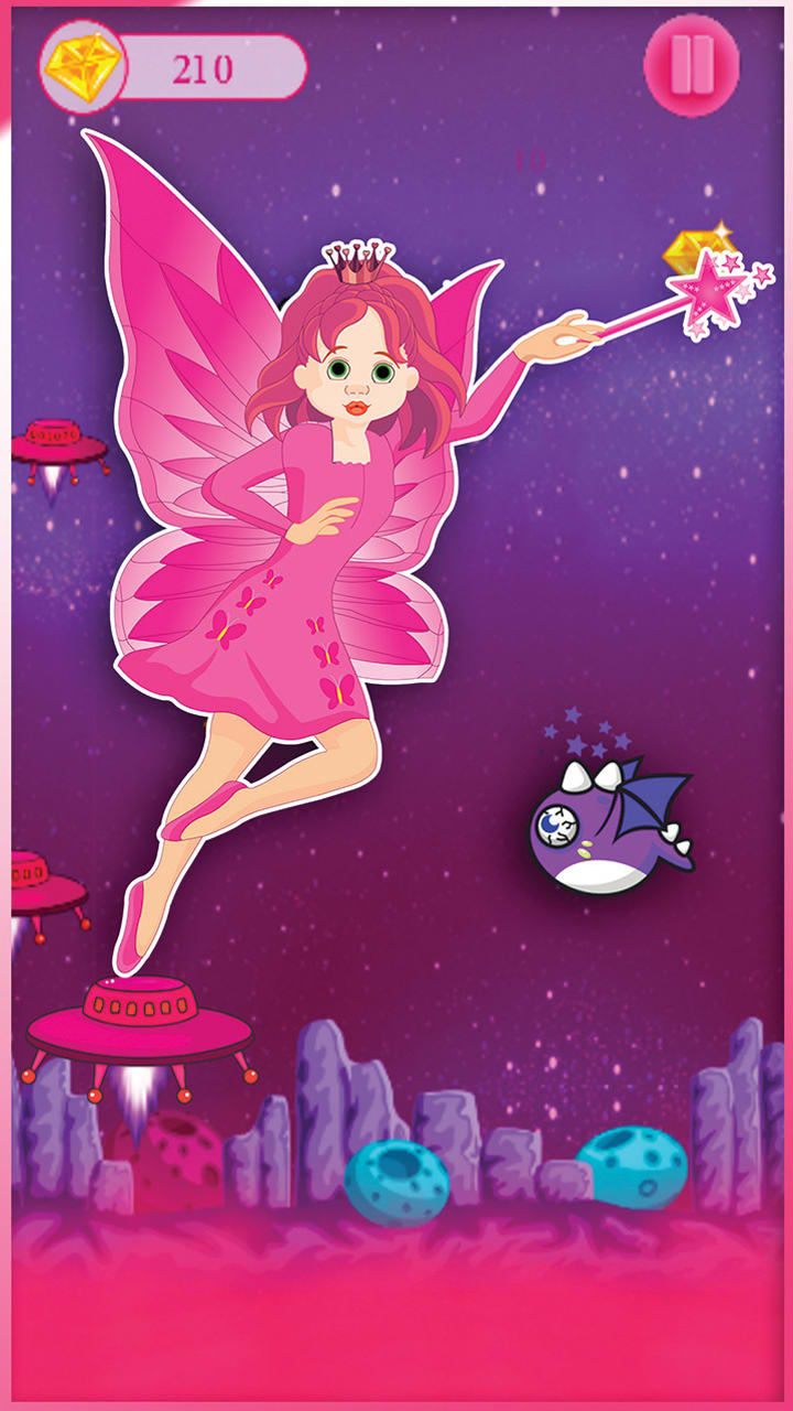 Pink Princess Alien Super Girl