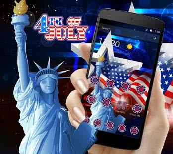 USA 4th July American Theme
