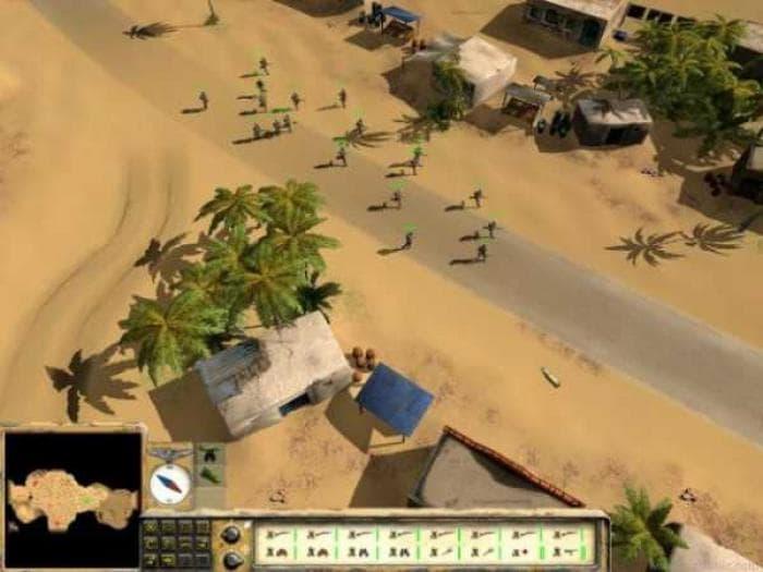 Desert Rats vs Africa Korps
