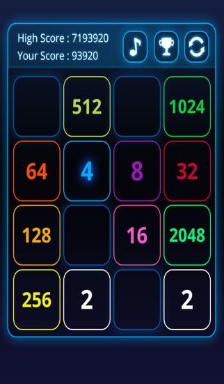 2048 Fibonaci