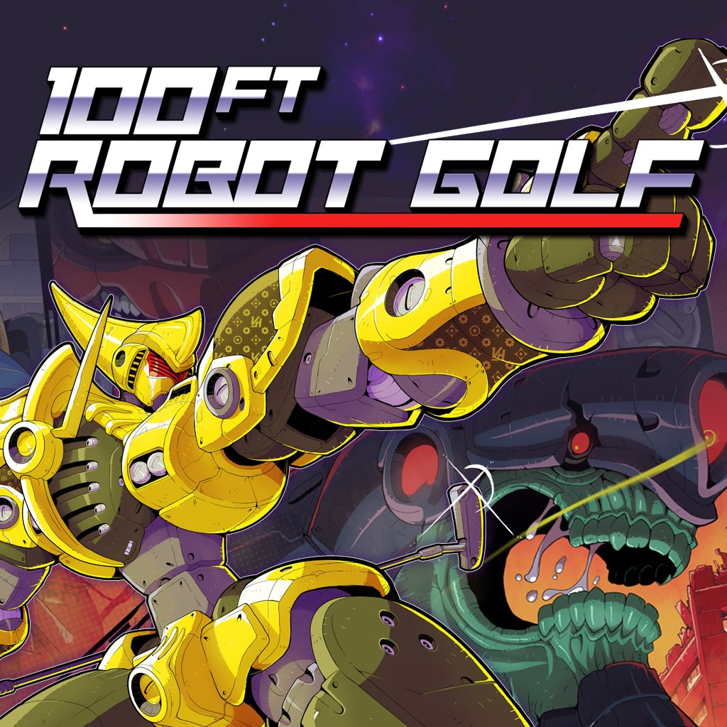 100ft Robot Golf PS VR PS4