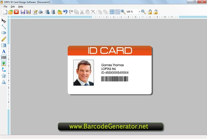 Id Card Designer Software - Download