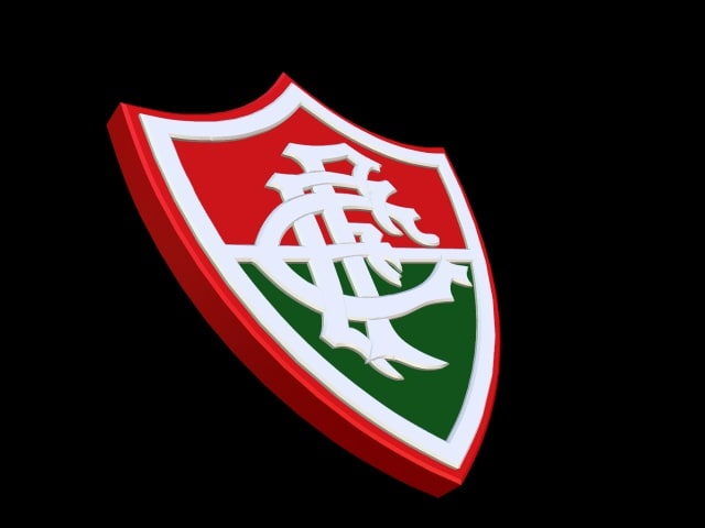 Escudo 3D do Fluminense