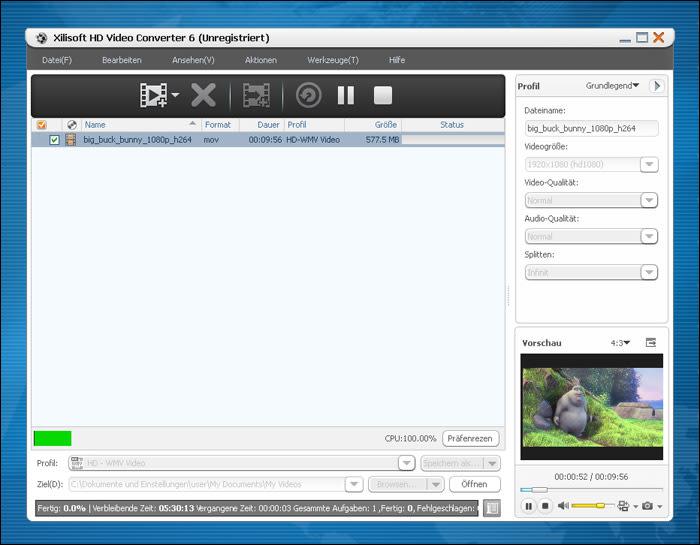 Xilisoft HD Converter