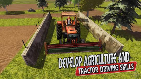 Real Tractor Farming & Harvesting 3D Sim 2017