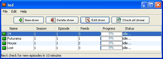 Tor Episodes