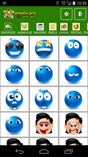Emoticonos Plus