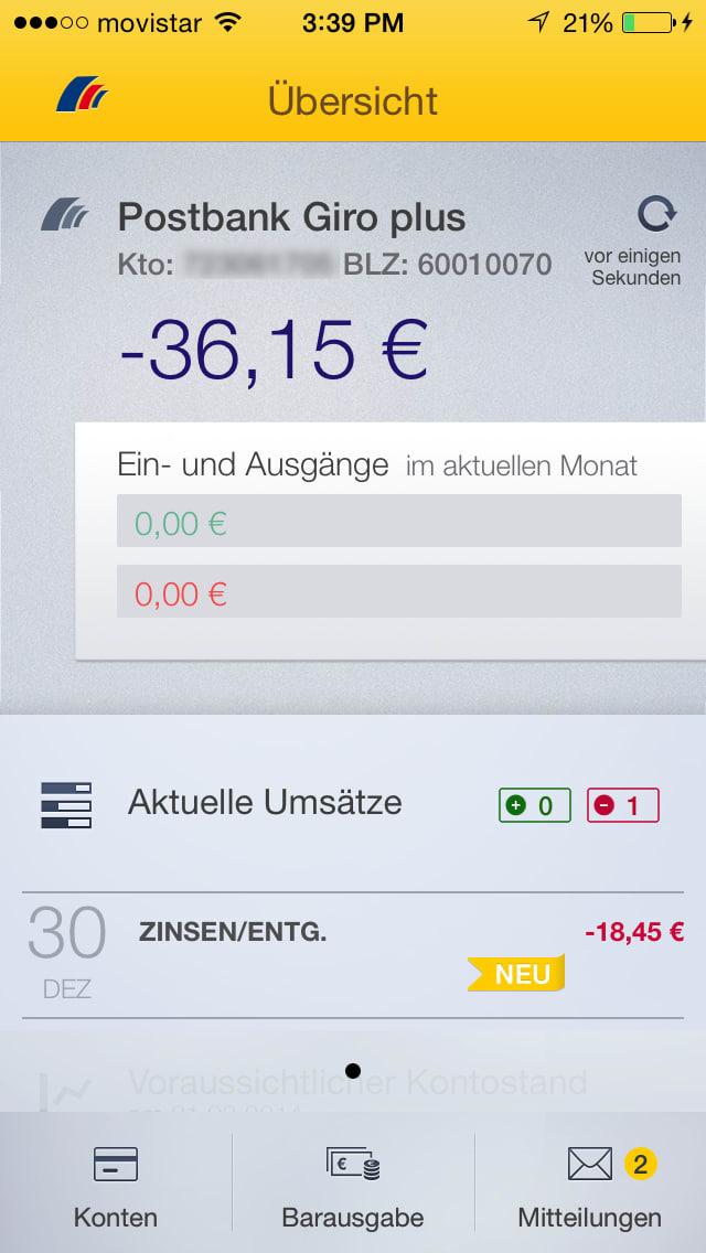 Postbank Finanzassistent - Banking kann so einfach sein!