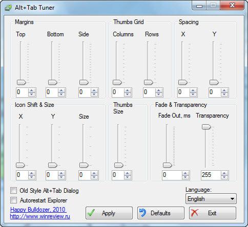 Alt Tab Tuner 1.0.1