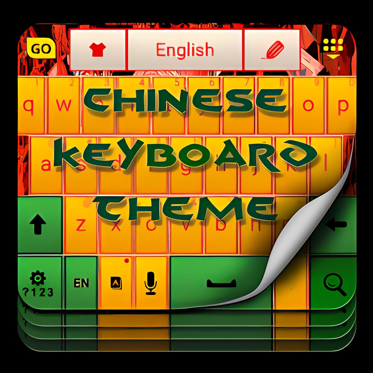 El tema del teclado chino