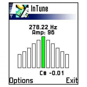 InTune musical instrument tuner