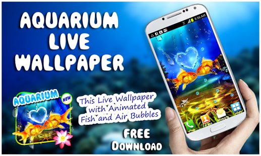 Aquarium Live Wallpaper New