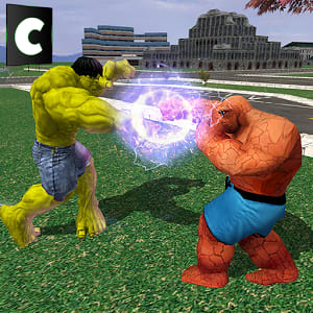 Monster Hero VS Fantastic Hero