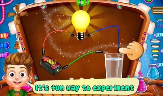 Ciencia experimento con agua