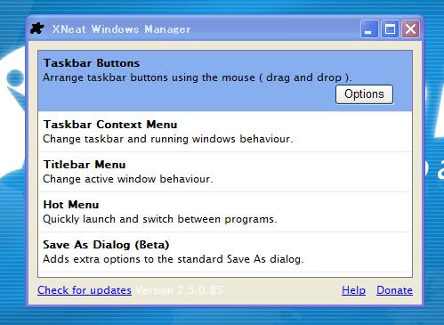XNeat Windows Manager