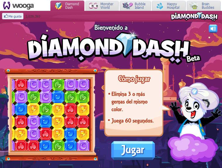 Diamond Dash Online