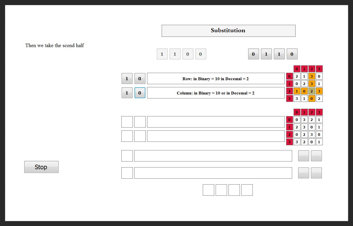 DES Algorithm Teacher