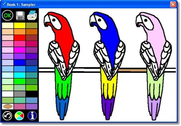 Free Windows Game That Is Part Of The Category PC Games With Subcategory Kids More Specifically Coloring Connected Book A