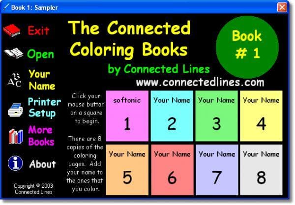 Connected Kids Coloring Book Is A Fun Kid Friendly Game View Full Description