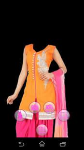 Salwar Suit photo making