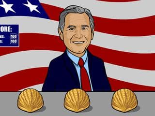 President Bush & Pretzel Screensaver