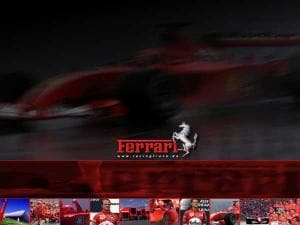 Ferrari Desktopmotiv Formel 1