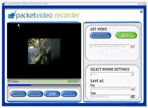 PacketVideo Recorder