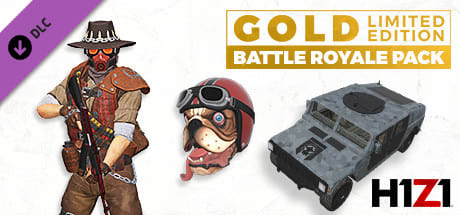 H1Z1: Gold LIMITED EDITION Battle Royale Pack Varies with device