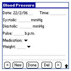 Blood Pressure Watch