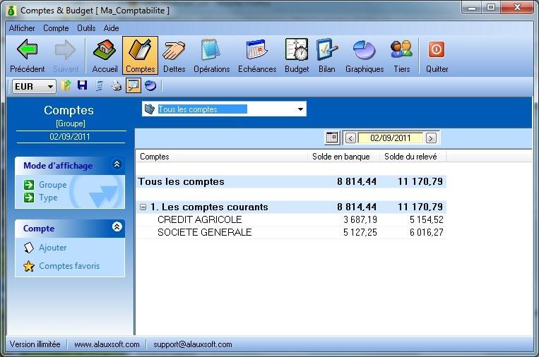 AlauxSoft Accounts and Budget v6.0.7.0