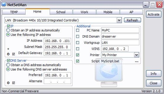 Free IP Switcher