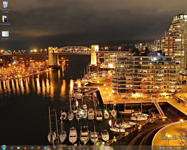 City Lights Tema para Windows 7