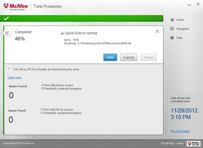 mcafee total protection 2012 full crack